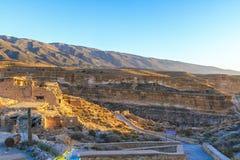Φαράγγι Ghoufi στοκ εικόνα με δικαίωμα ελεύθερης χρήσης