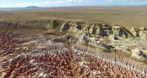 Φαράγγι Kiin Kerish στο ανατολικό Καζακστάν απόθεμα βίντεο