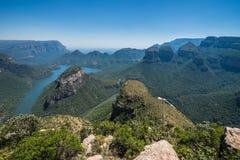 Φαράγγι Mpumalanga ποταμών Blyde Στοκ φωτογραφία με δικαίωμα ελεύθερης χρήσης