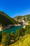 Φαράγγι Piva - Μαυροβούνιο Στοκ εικόνα με δικαίωμα ελεύθερης χρήσης