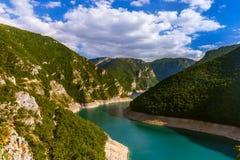 Φαράγγι Piva - Μαυροβούνιο Στοκ εικόνες με δικαίωμα ελεύθερης χρήσης
