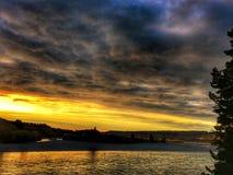 Φαράγγι Rakaia, Νέα Ζηλανδία Στοκ φωτογραφίες με δικαίωμα ελεύθερης χρήσης