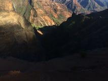 Φαράγγι Waimea Kauai στο νησί, Χαβάη Στοκ Εικόνες