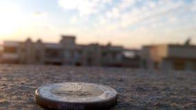 Φαραονικά παλαιά 7000 λιβρών στοκ εικόνες