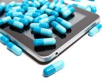 Φαρμακείο Διαδικτύου Στοκ Εικόνες