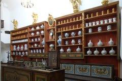 Φαρμακείο στο φραντσησθανό μοναστήρι σε Dubrovnik στοκ εικόνα