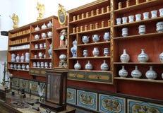 Φαρμακείο στο φραντσησθανό μοναστήρι σε Dubrovnik στοκ εικόνα με δικαίωμα ελεύθερης χρήσης