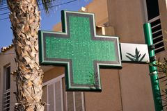 Φαρμακείο, Farmacia Στοκ Φωτογραφίες
