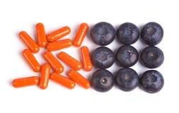 φαρμακευτικά είδη βακκινίων Στοκ εικόνα με δικαίωμα ελεύθερης χρήσης