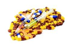 Φαρμακευτικές θεραπείες Στοκ Φωτογραφίες