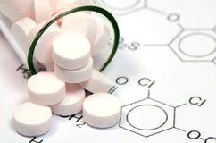 Φαρμακευτική τεχνολογία στοκ φωτογραφία με δικαίωμα ελεύθερης χρήσης