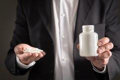Φαρμακευτικός αντιπρόσωπος, σύμβουλος ή επικεφαλής διευθυντής στοκ εικόνα με δικαίωμα ελεύθερης χρήσης