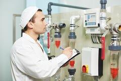 Φαρμακευτικός βιομηχανικός εργάτης στοκ εικόνες με δικαίωμα ελεύθερης χρήσης