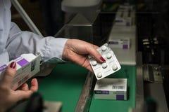 Φαρμακοβιομηχανία Στοκ εικόνες με δικαίωμα ελεύθερης χρήσης