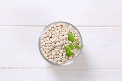 φασολιών ακατέργαστο λευκό οσπρίων τροφίμων υγιές στοκ φωτογραφία με δικαίωμα ελεύθερης χρήσης