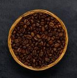 φασολιών καφές που ψήνετ&alpha Στοκ εικόνα με δικαίωμα ελεύθερης χρήσης