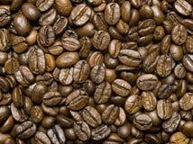 φασόλια ανασκόπησης coffe Στοκ εικόνα με δικαίωμα ελεύθερης χρήσης