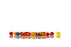 Φασόλια ζελατίνας, που απεικονίζονται Στοκ Εικόνες