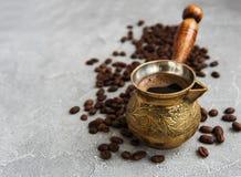 Φασόλια καφέ και Τούρκος στοκ φωτογραφίες