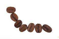 Φασόλια καφέ Στοκ Εικόνες