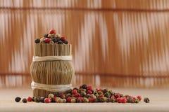 Φασόλια πιπεριών Στοκ Φωτογραφίες