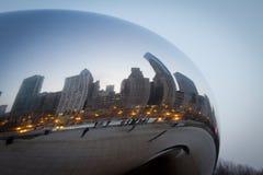 φασόλι Σικάγο στοκ φωτογραφία