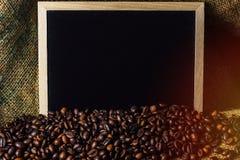 Φασόλια καφέ επιχειρησιακής έννοιας Στοκ φωτογραφία με δικαίωμα ελεύθερης χρήσης