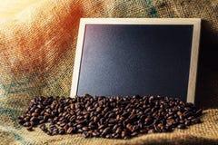 Φασόλια καφέ επιχειρησιακής έννοιας Στοκ Εικόνες