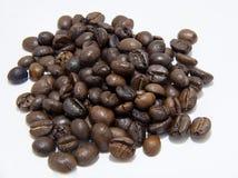 Φασόλια καφέ και σκιά Στοκ φωτογραφία με δικαίωμα ελεύθερης χρήσης