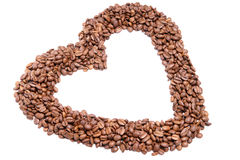 Φασόλια καφέ Στοκ Εικόνα