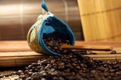 Φασόλια καφέ Στοκ φωτογραφία με δικαίωμα ελεύθερης χρήσης
