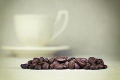 Φασόλια καφέ Στοκ εικόνα με δικαίωμα ελεύθερης χρήσης