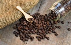 Φασόλι καφέ για το μεγάλο από το κατώτατο σημείο Στοκ Εικόνες