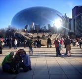 Φασόλι του Σικάγου Στοκ Φωτογραφία