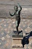 φαύνος Αρχαιολογική περιοχή της Πομπηίας, nr Βεζούβιος, Ιταλία Στοκ Εικόνες