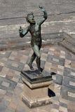 Φαύνος, αρχαιολογική περιοχή της Πομπηίας, nr Βεζούβιος, Ιταλία Στοκ φωτογραφία με δικαίωμα ελεύθερης χρήσης