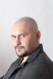 φαλακρό πορτρέτο ατόμων Στοκ εικόνες με δικαίωμα ελεύθερης χρήσης