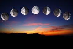 φεγγάρια Στοκ εικόνες με δικαίωμα ελεύθερης χρήσης
