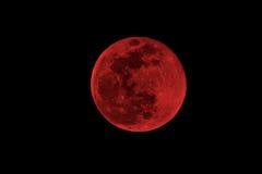 Φεγγάρι αίματος Στοκ φωτογραφία με δικαίωμα ελεύθερης χρήσης
