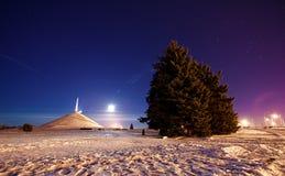 Φεγγάρι αύξησης Στοκ εικόνα με δικαίωμα ελεύθερης χρήσης