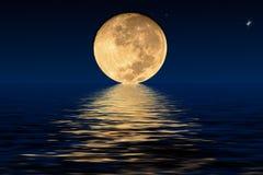 Φεγγάρι και σκιές Στοκ Εικόνες