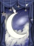 φεγγάρι παιδιών Στοκ Φωτογραφίες
