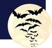 φεγγάρι ροπάλων Στοκ Φωτογραφία