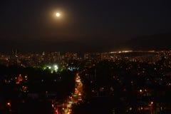 Φεγγάρι στη Χιλή στοκ εικόνες