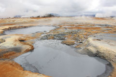 Φεγγάρι της Ισλανδίας στοκ εικόνες με δικαίωμα ελεύθερης χρήσης