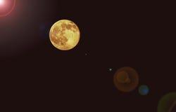 Φεγγάρι φραουλών Στοκ Εικόνες