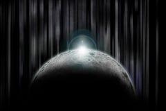 φεγγάρι darkside Στοκ φωτογραφία με δικαίωμα ελεύθερης χρήσης