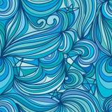 Φεγγαριών αστεριών άνευ ραφής σχέδιο γραμμών ουρανού αφηρημένο διανυσματική απεικόνιση