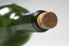 φελλός μπουκαλιών πράσιν&om Στοκ εικόνες με δικαίωμα ελεύθερης χρήσης