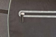 Φερμουάρ σε μια τσάντα Στοκ Φωτογραφία